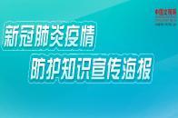 新冠肺炎疫情防护宣传海报